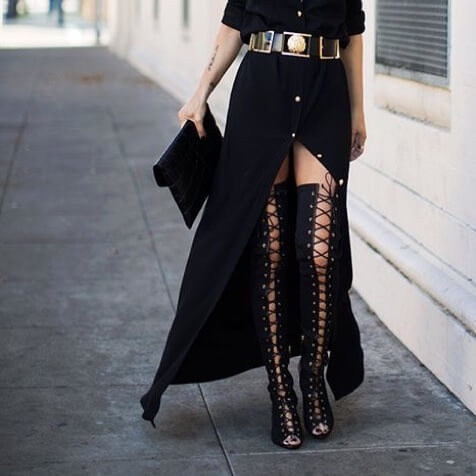 15 Over-the-knee Boots 2018